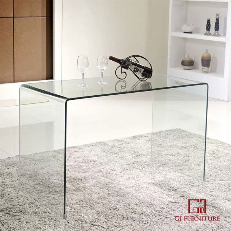 Bent Glass Hall Table 1100mm