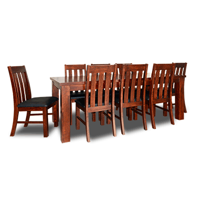 Oakland 1980mm 7Pcs Dining Suite