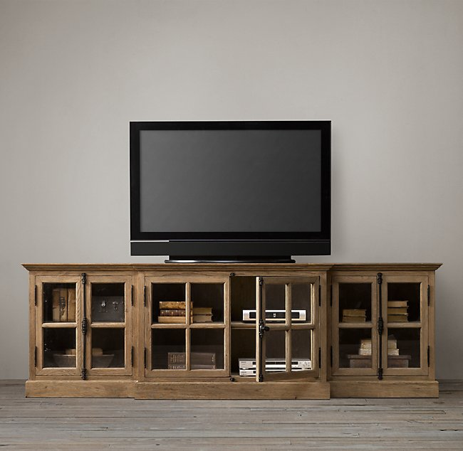 French-Provincial-Style-Washed-Entertainment-Unit