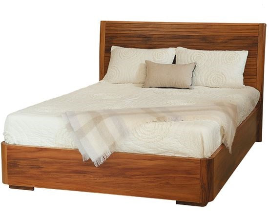 NZ Native RIMU King Bed Solaris