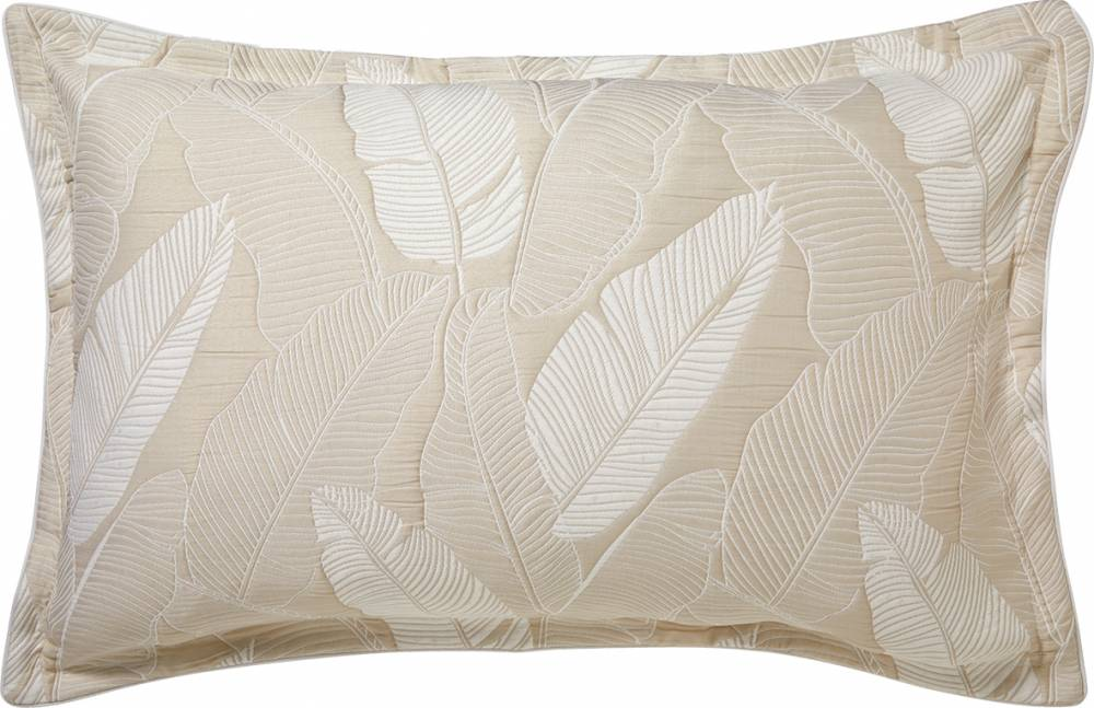 TAHITI TAN Quilt Cover Set By Logan & Mason Platinum-Queen