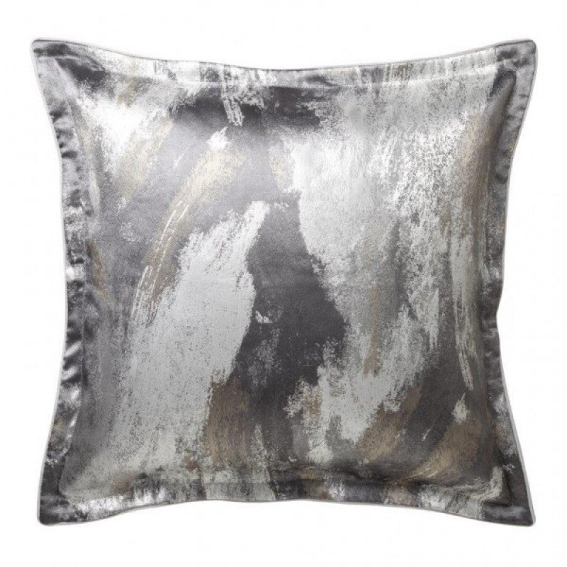Vasari Silver European Pillowcase by Da Vinci Private Collection