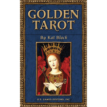 Load image into Gallery viewer, Golden Tarot Deck