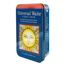 Load image into Gallery viewer, Universal Waite Tarot Deck In Tin