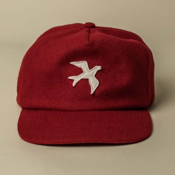 The Summer Tanager Hat - Deep Red