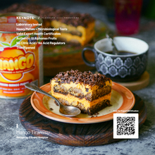 Load image into Gallery viewer, KEYNOTE® Alphonso Mango Pulp / 3% Added Sugar / 850 grams