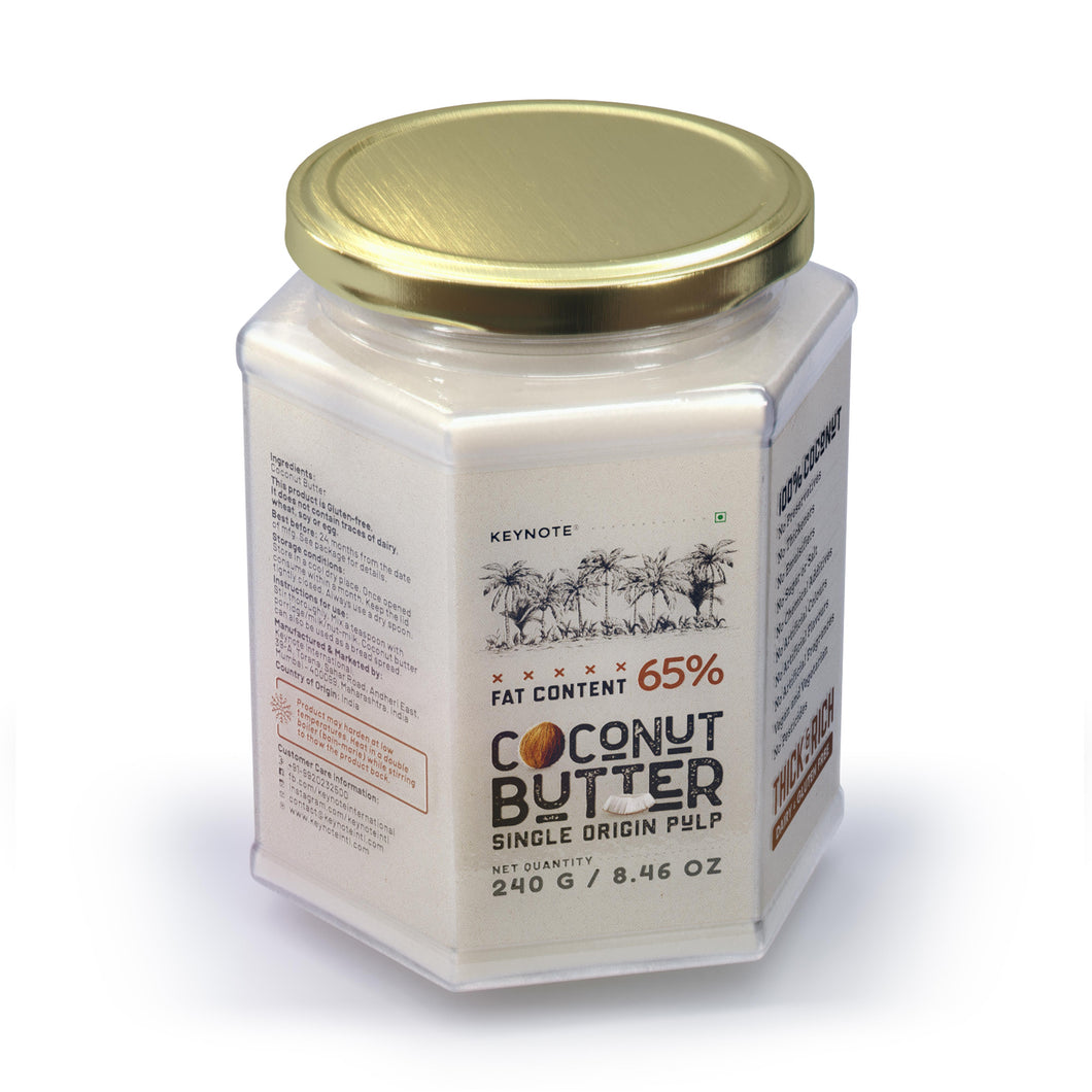 KEYNOTE® Coconut Butter / 65% Fat / 240 grams