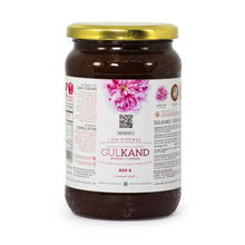 Load image into Gallery viewer, KEYNOTE® Gulkand / Sun Cooked Rose Preserve / 900 grams