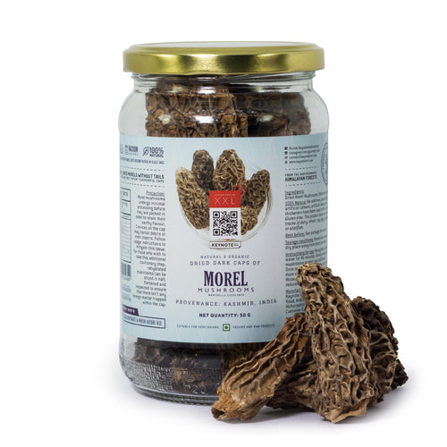 KEYNOTE® Morel Mushrooms Without Tails / Large / 50 grams