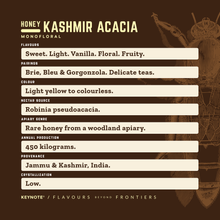 Load image into Gallery viewer, KEYNOTE® Rare Honey Collection / Kashmir Acacia / 320 Grams