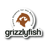 grizzlyfish logo, fierce respect for the backcountry