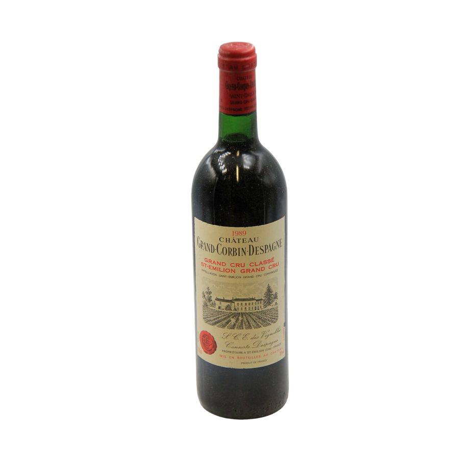 1989 Chateau Grand Corbin Despagne Grand Cru Classe, St Emilion, Bordeaux