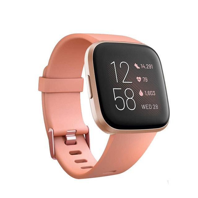 Replacement Band For Original Fitbit Versa/Versa 2 Soft Silicone Waterproof Wrist Accessories Watch Strap For Fitbit Versa 2