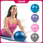 Anti-Pressure Explosion-Proof 25 CM Diameter Yoga Exercise Gymnastics Pilates Yoga Balance Ball Gym Home Training Yoga Ball