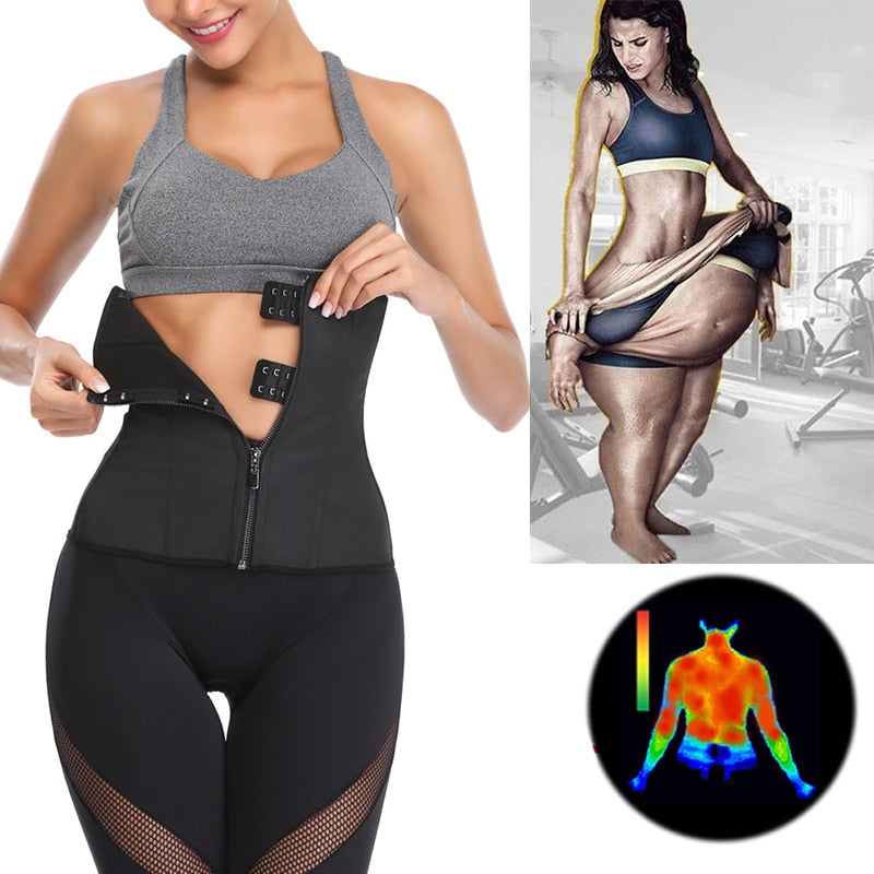 Latex Waist Trainer Body Shaper
