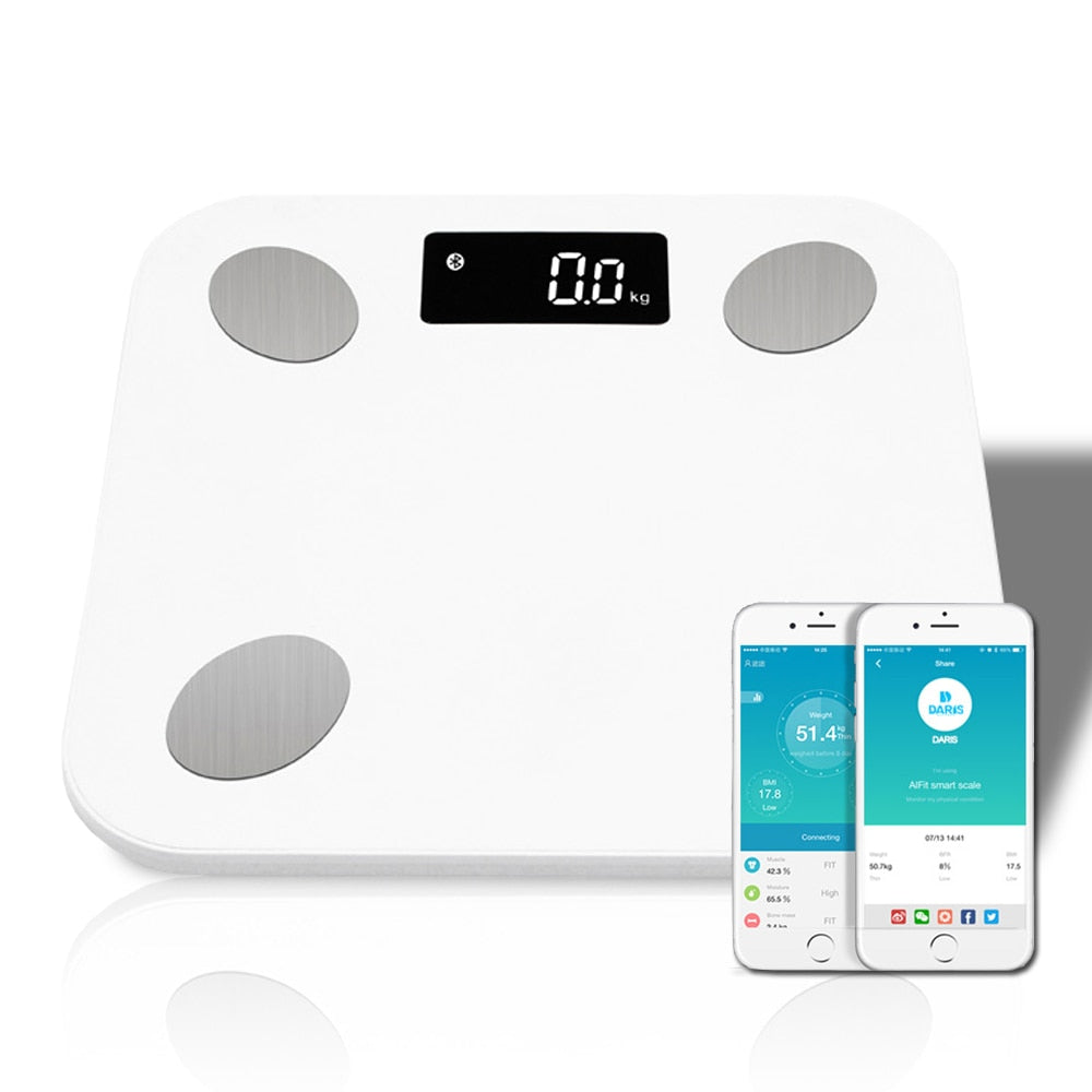 Smart Wireless Digital Bathroom Weight Scale