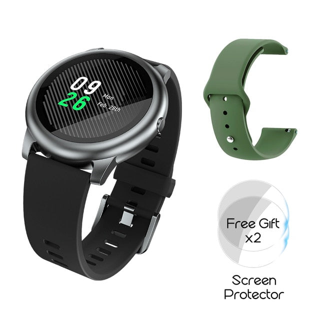 Metal Heart Rate Sleep Monitor Smart Watch