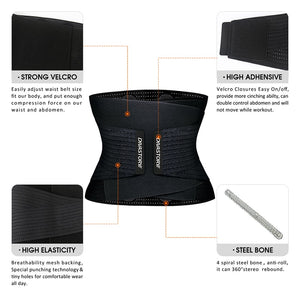 Neoprene Sweat Waist Trainer Body Shaper