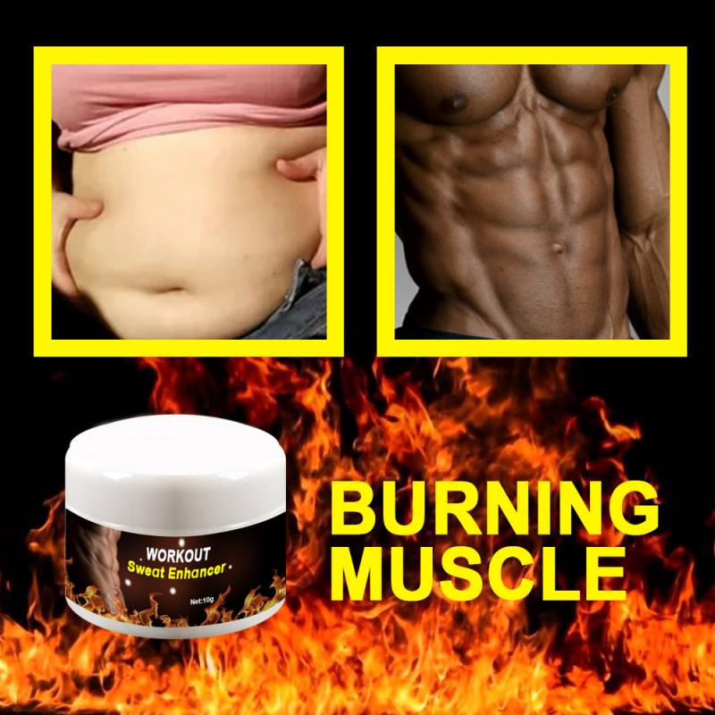 10-30g Slimming Cream Men Abdominal Muscle Exercise Ointment Body Fitness Shaping Cream Effective Burning Fat Cream TSLM1