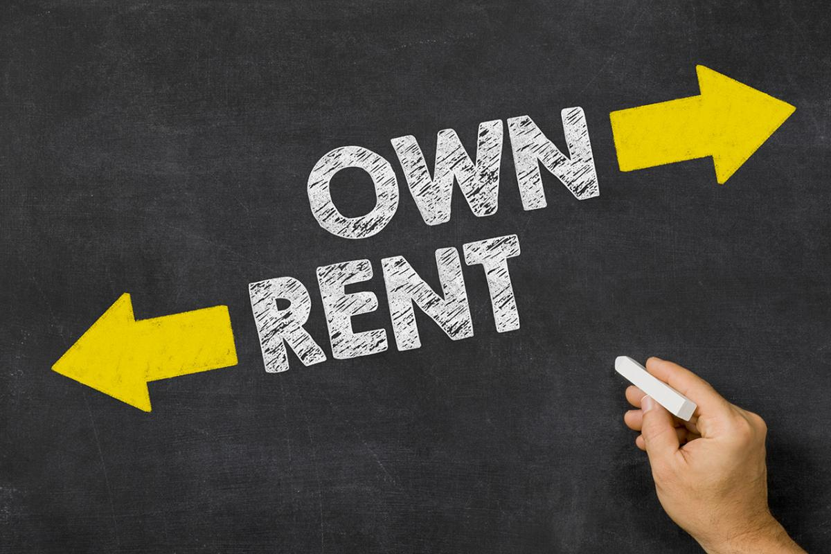 own rent