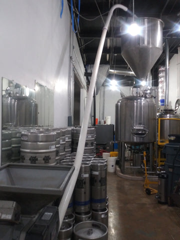 New Starbase Brewing equipment in Austin, Texas