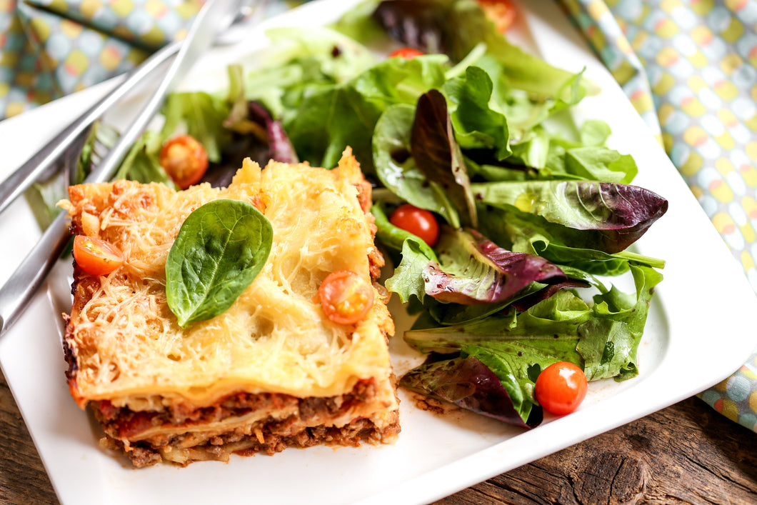 Hearty Food Co. Lasagne & Salad
