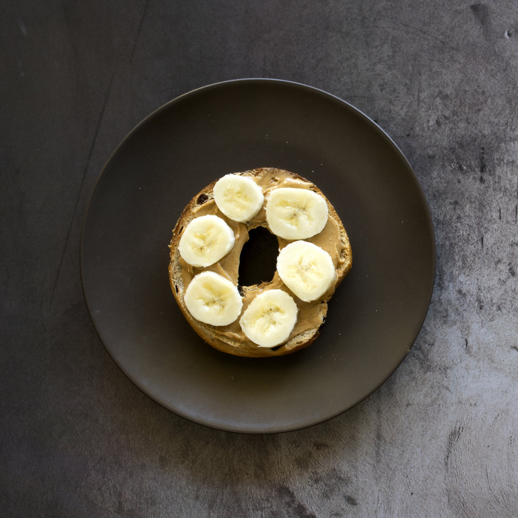 Peanut Butter And Banana Bagel