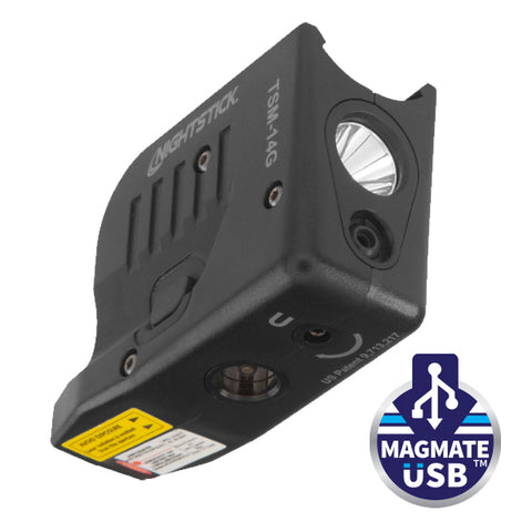 TSM-14G: Light w/Green Laser for Glock® G43X/G48X MOS