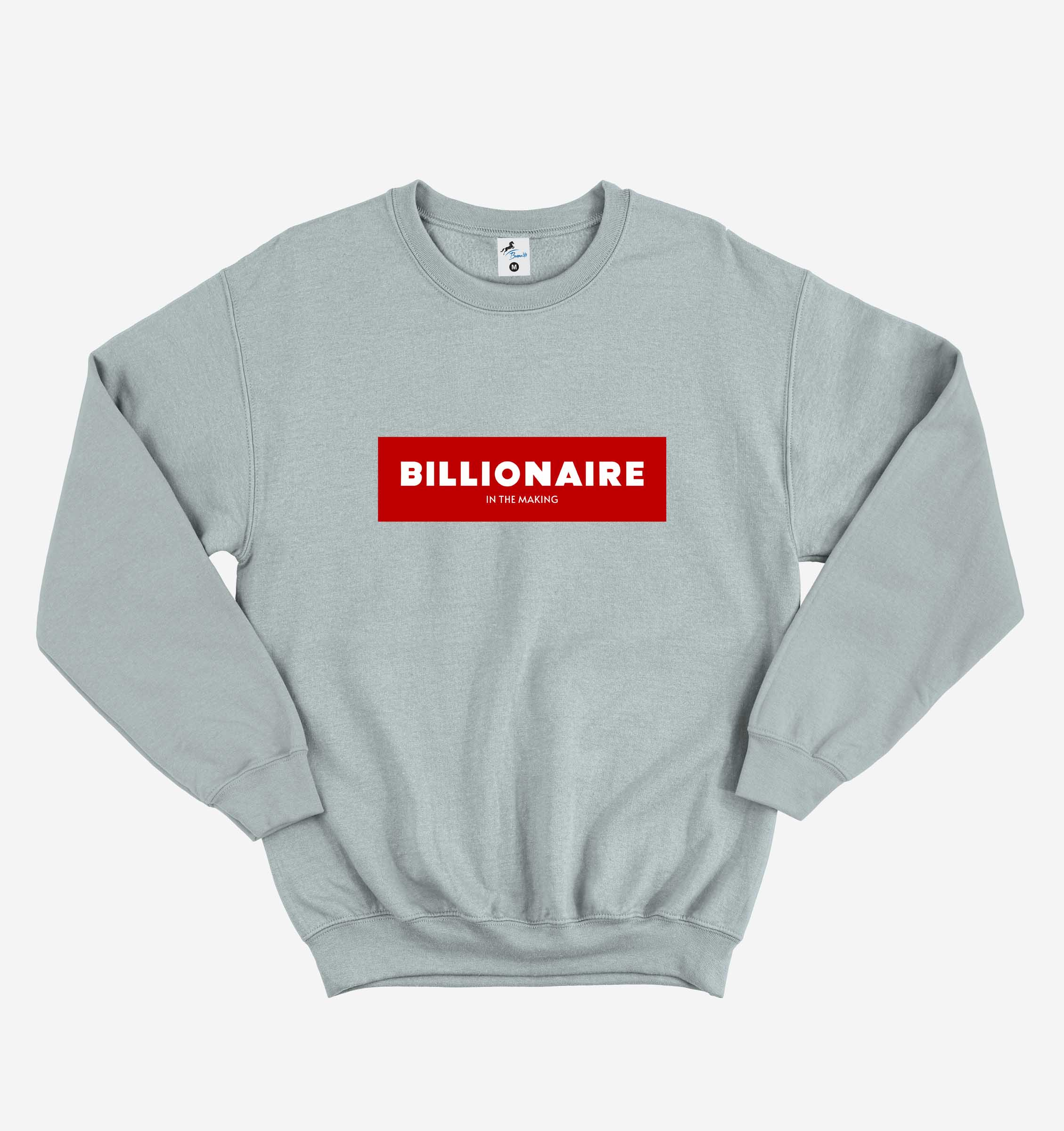 BILLIONAIRE GRAY SWEATSHIRT