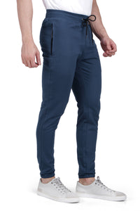 Petrol Blue Small Grip Track Pant