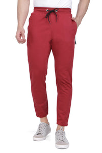 Maroon Small Grip Track Pant