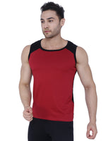 Load image into Gallery viewer, Bueno Life Red & Black Vests for men