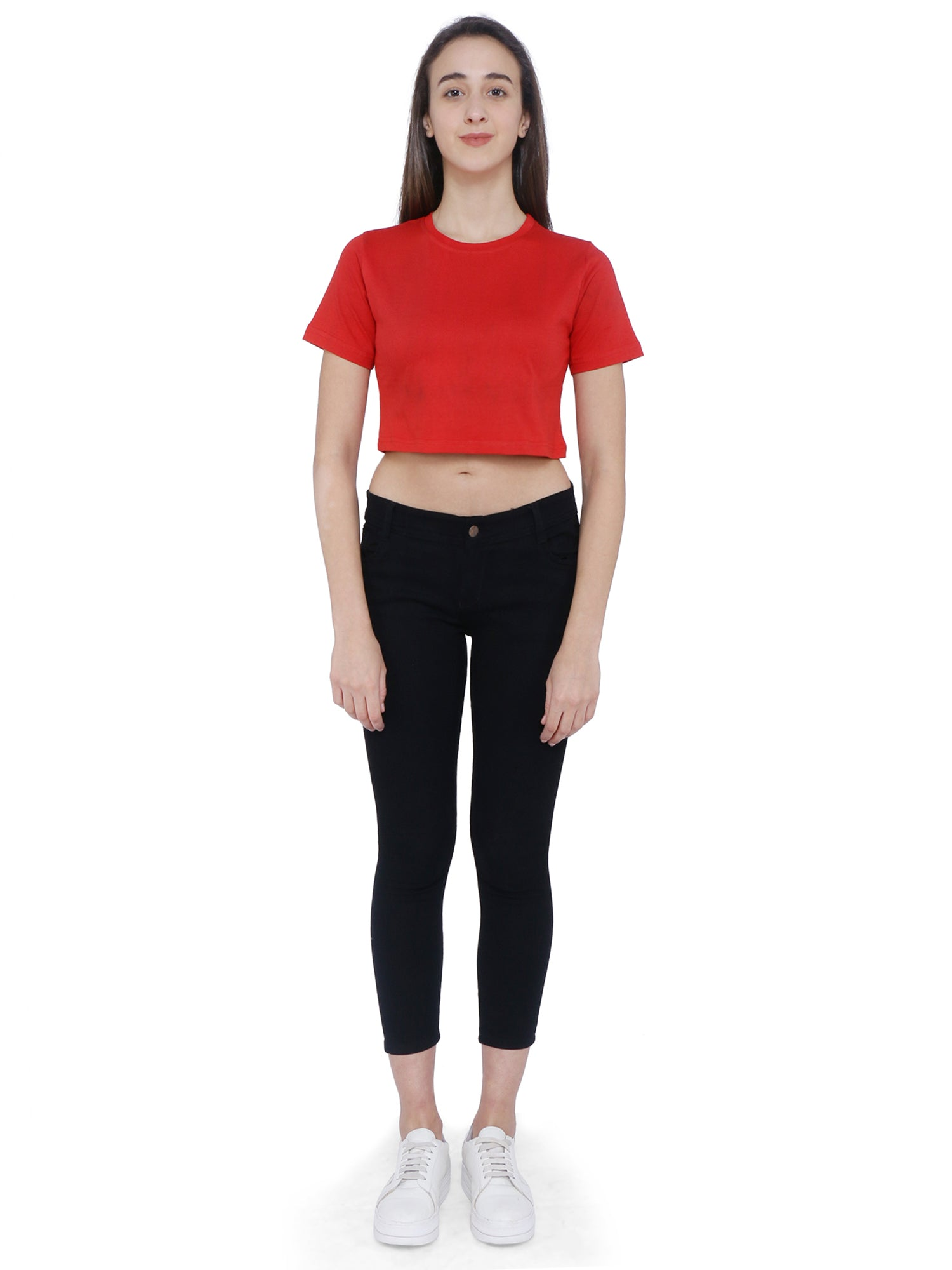 Bueno Life Red Crop top