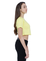 Load image into Gallery viewer, Bueno Life Yellow Crop top