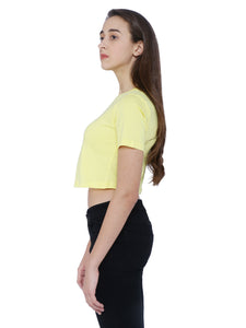 Bueno Life Yellow Crop top