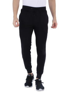 Bueno Life Black Track pant with bottom rib, zipper