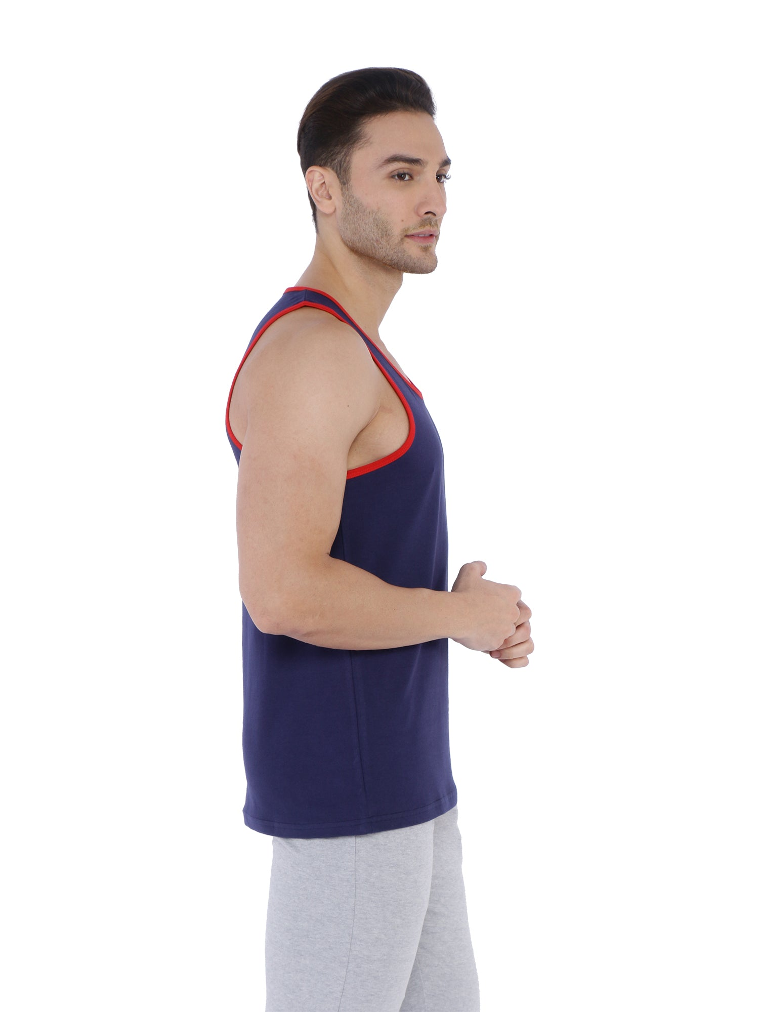 Bueno Life Navy Vests for men