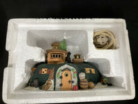 "Dickens' Village Series ""Peggotty's Seaside Cottage"" 1989 New"
