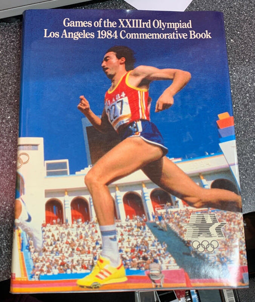 Games of the XXIIIrd Olympiad Los Angeles 1984 Commemorative Book