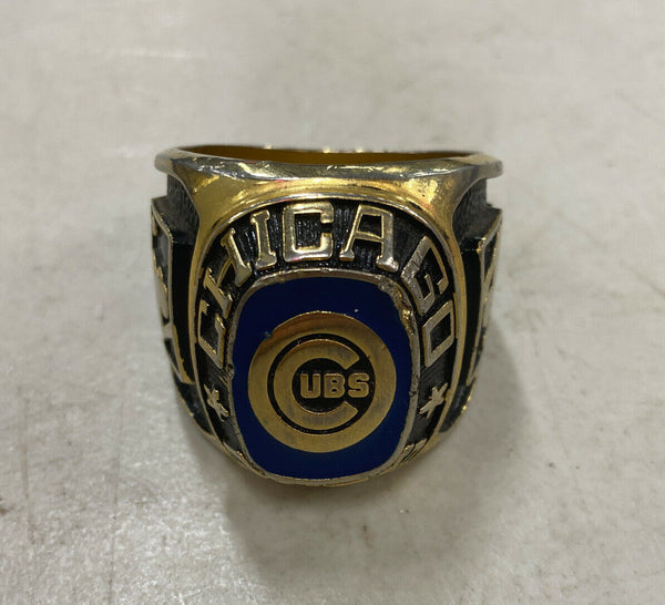 UBS Chicago Cubs Classic Silver Major League Baseball Championship Ring