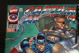 Marvel, Avengers——Captain America Mar'97 Issue #5 Signed By Rob Liefeld