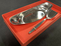 WMF Cromargan Fraser's 18/8 Stainless Steel Germany Petite Server w/ Spoon #8606