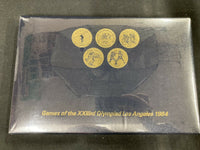 NEW SEALED | 1984 Games of the XXIIIrd Olympiad Los Angeles Transit Token Set