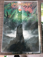 THE LORD OF THE RINGS A 12 MONTH 2006 POSTER CALENDAR, NEW, SEALED