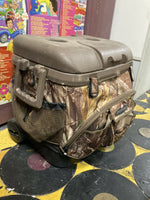Chemical/Biological Warfare Suit With Accessories In Igloo Sportsman Ice Chest