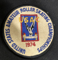 USAC / RS Merit Roller Skating Award Patch 92C4