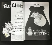Tea Club #1 Comic (The First Meeting) PMBQ Studios SIGNED