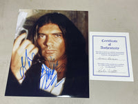 young Antonio Banderas Hand Signed 8x10 Photo W/COA