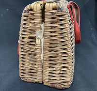Vintage Style Gaymode Brand Wicker Bag