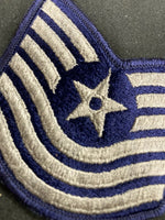USAF Air Force Chevrons - Male Master Sergeant - Vietnam era LOT OF 19